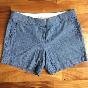 Brand New J. Crew Factory Chambray Shorts